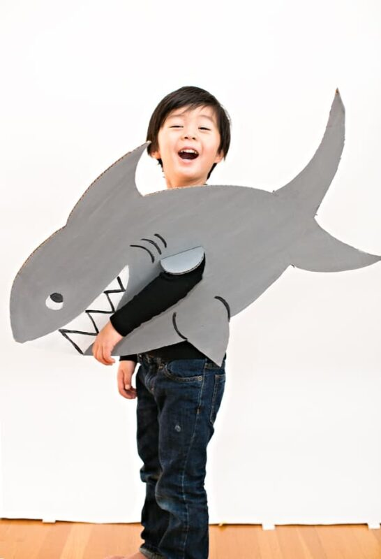 DIY carnaval requin