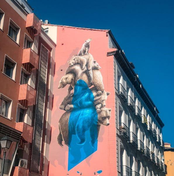 que voir à Madrid - street art