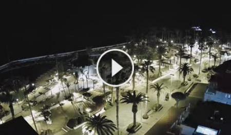 Webcam en direct Puerto de la Cruz - Lago Martiánez