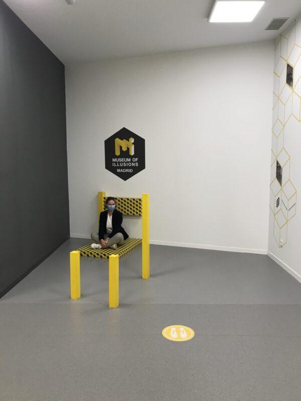 musée des illusions musées instagrammables de Madrid