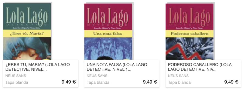 livre en espagnol