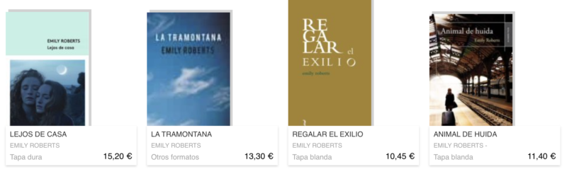 livre en espagnol Emily Roberts