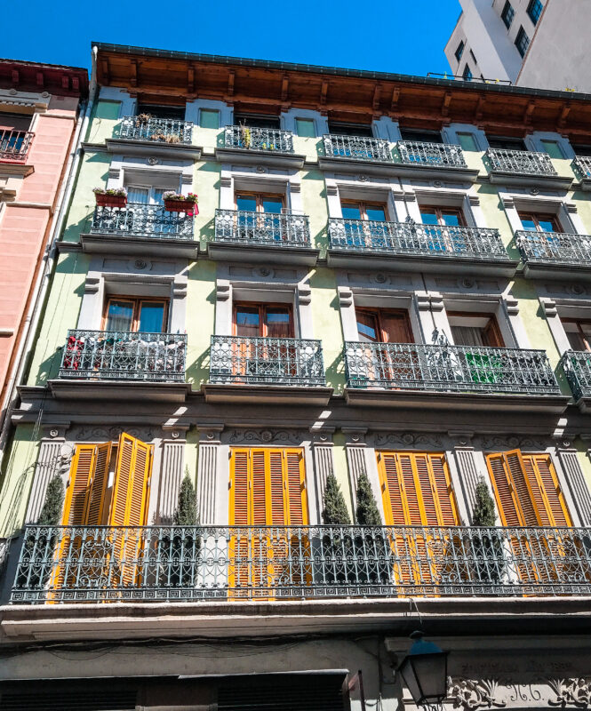 Madrid au printemps