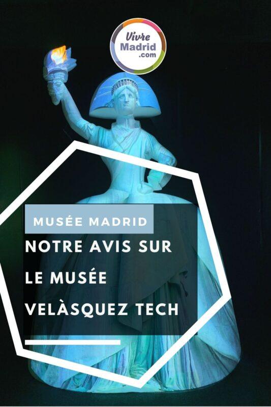 musée velasquez tech madrid