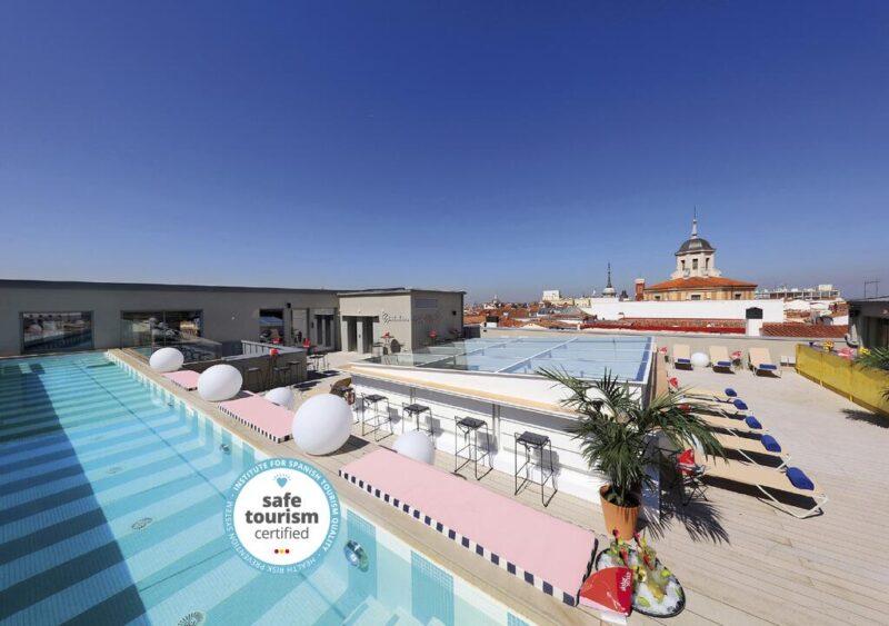 hôtel avec piscine madrid Axel hôtel