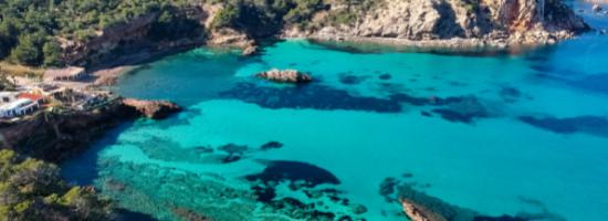 Plage à Ibiza