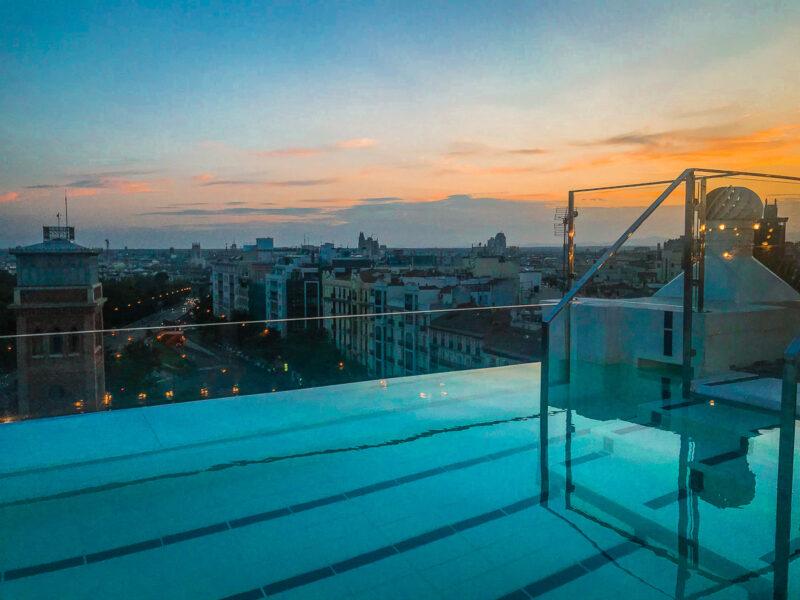 h10 hotel avec piscine madrid
