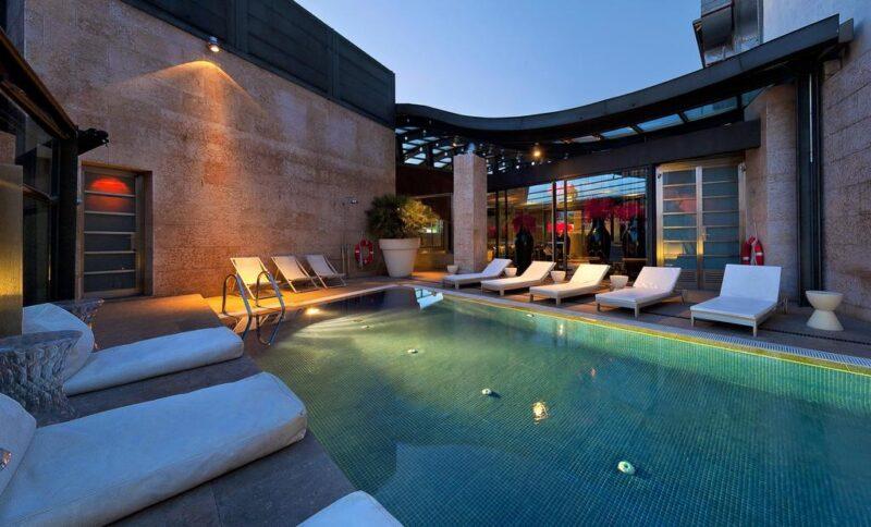 hôtel avec piscine à Madrid Urban hôtel