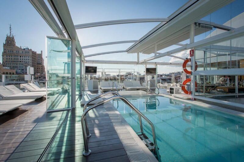 room mate oscar hotel piscine madrid