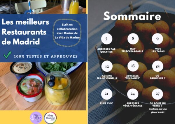où manger à Madrid restaurants