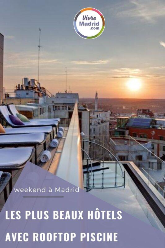 hotel avec piscine rooftop