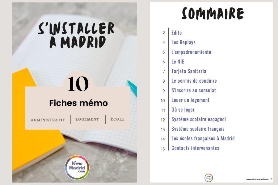 s'installer Madrid guide complet