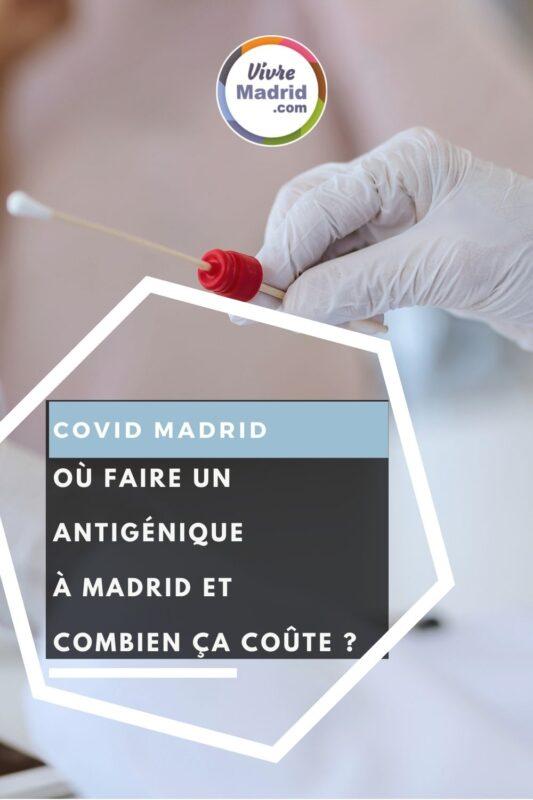 où faire un test antigénique à Madrid
