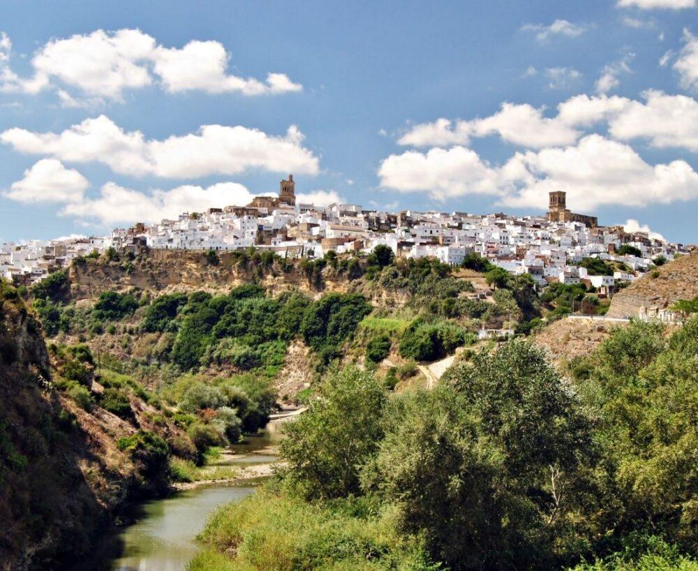 Arcos de la Fronteras : plus beaux villages blancs d'Andalousie