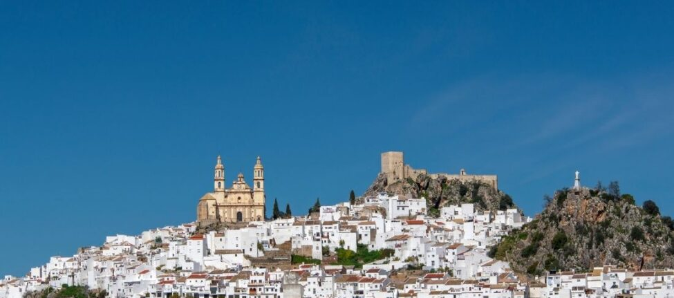 villages blancs d'Andalousie Olvéra
