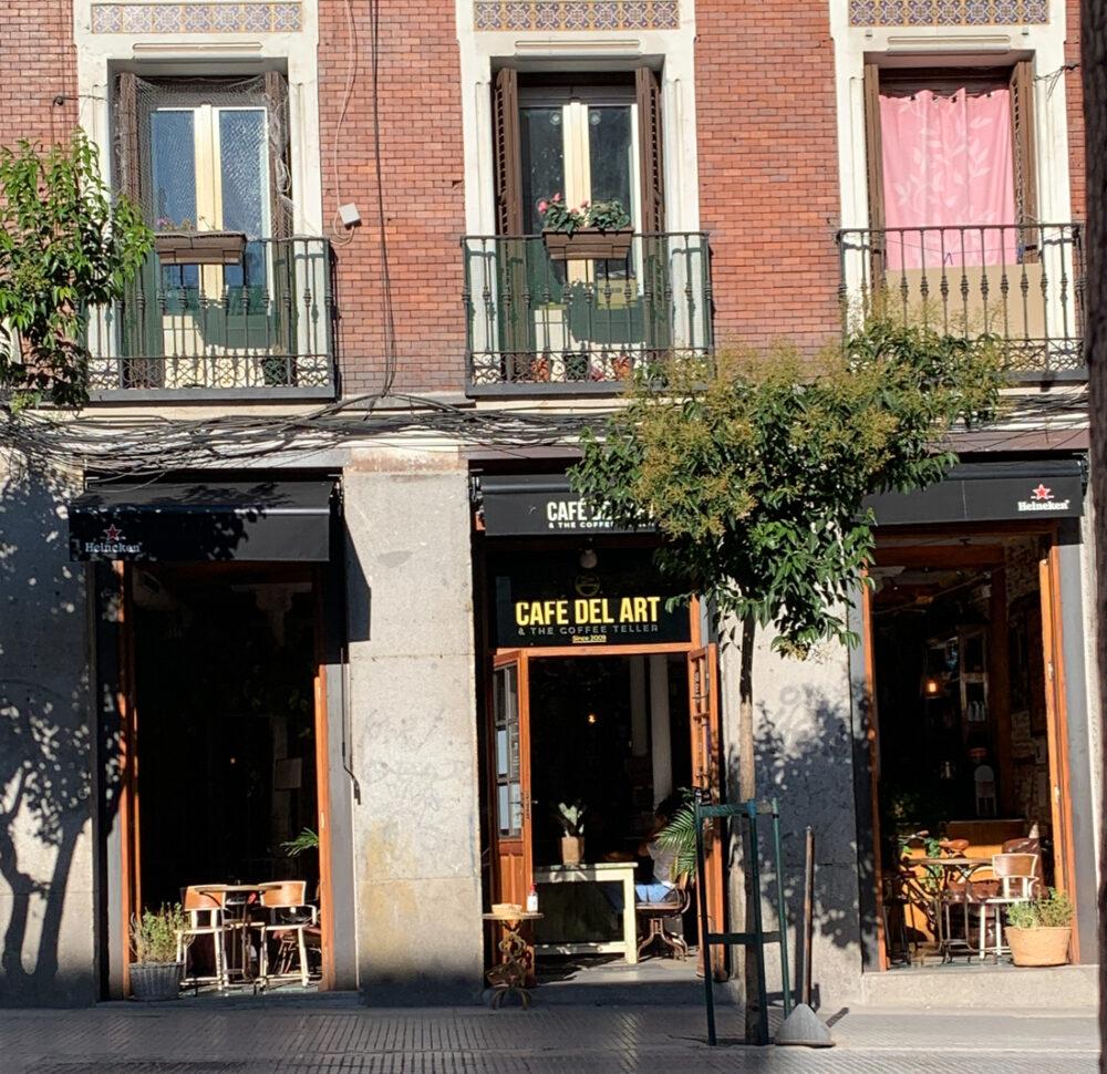 Café pour travailler à Madrid