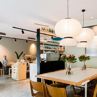 Café pour travailler à Madrid federal café
