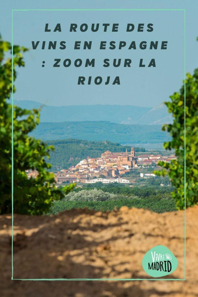 la rioja route des vins